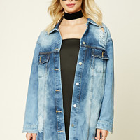 Longline Denim Jacket