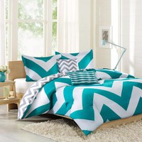 Better Homes and Gardens Leo 5-Piece Bedding Comforter Set - Walmart.com