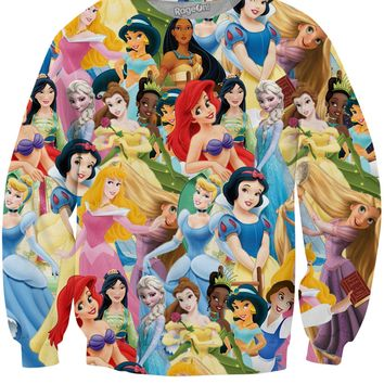 Disney Princess Crewneck Sweatshirt