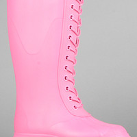 Native The Paddington Boot in Hollywood Pink