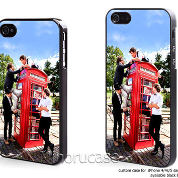 One Direction Ball Box Plus Signature Custom case For iphone 4/4s,iphone 5,Samsung Galaxy S3,Samsung Galaxy S4 by minorucase on etsy