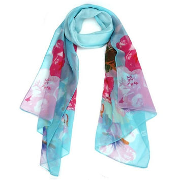 Chiffon Women Scarf Shawl Scarf Scarves shawls and hijabs BL