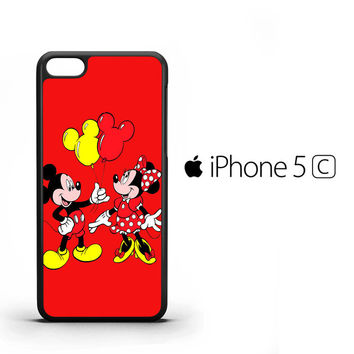 Baloon Love Mickey Minnie mouse V1574 iPhone 5C Case