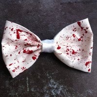 Bloody Bows by sticksandbows on Etsy