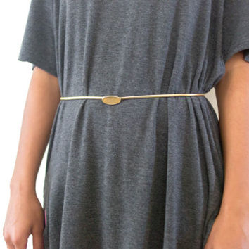 80s 90s brass modern belt, gold vintage metallic, 1990 vintage mod stretch, urban outfitters tumblr fashion, vaporwave aesthetic soft grunge