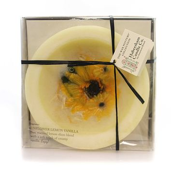 Habersham Candles Sunflower Lemon Vanilla Flameless Candle