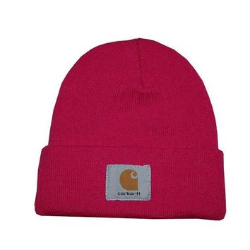 Day-First™ Carhartt Women Men Embroidery Winter Beanies Knit Hat Cap