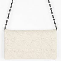 Urban Outfitters - Cooperative Puffy Bow Convertible Crossbody Wallet