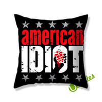 American Idiot Square Pillow Cover