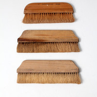SALE collection antique hand brooms