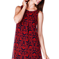 Londonberry Floral Shift Dress