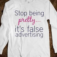 False Advertising Tee - C's Boutique