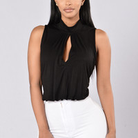 Keynote Bodysuit - Black