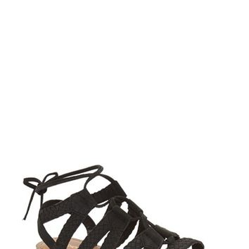 Topshop 'Hiccup' Ghillie Sandal (Women) | Nordstrom