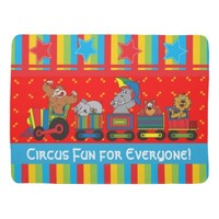 Circus Fun for Everyone Baby Blanket