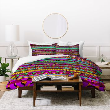 Aimee St Hill Bright Tribal Duvet Cover