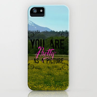 Pretty as a Picture iPhone & iPod Case by RDelean