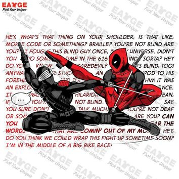 "Deadpool ""Karate Killer"" Fashion Shirt"