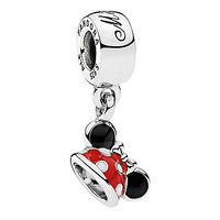 Minnie Mouse ''Minnie Ear Hat'' Charm by PANDORA | Disney Store