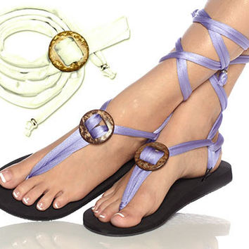 Sunday special offer for sandal or flip flop with interchangeable straps and also barefoot sandal