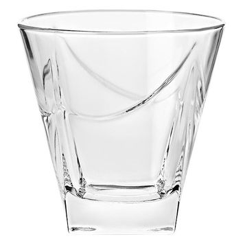 Majestic Gifts E64679-S6 Quality Glass Double Old Fashioned Tumbler 11.5 oz. Set of 6