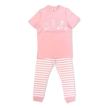 Short Sleeve Princess Trio Sleepwear