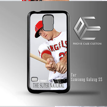 Mike Trout Baseball case for iPhone, iPod, Samsung Galaxy