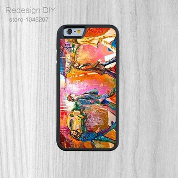 beatles abbey road Case models of mobile phone shell For iphone 6 6S And 4 4s 5 5s 5c 6 plus Hard Plastic