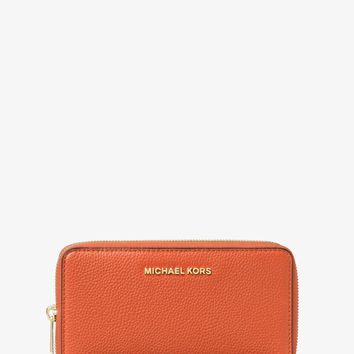 Mercer Large Leather Smartphone Wristlet | Michael Kors