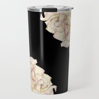 Roses - Lights the Dark Travel Mug by drawingsbylam