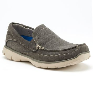 Chaps Hinsdale Men's Casual Loafers (Grey)
