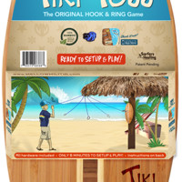 Tiki Toss Surf Hook and Ring Game