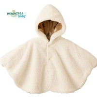 2017 New Winter Fashion Baby Coats Boys Girl Smocks Outerwear Fleece Baby Cloak Jumpsuits Children's Clothing Poncho Cape Jacket
