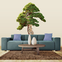 Twisty Tree wall decal