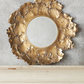 Autumn Leaf Mirror