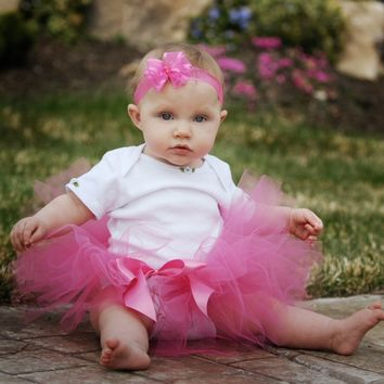 Boutique Baby Tutus, Our sewn tutus, tutu dresses, flower girl tutus, baby tutus, 1st birthday tutus & toddler tutus are custom handmade to order in USA for your little princess! Polka Dot Tutu Dresses Lily Anna for Girls - fanciful fairytale fashions ma