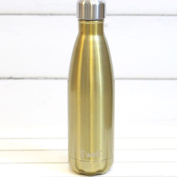 S'well Bottle: Sparkling Light Gold Shimmer {17 oz}