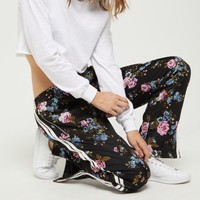 Floral Tapered Track Pant