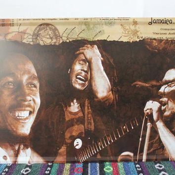 50pcs/lot Metal Sign shabby chic Pop star Bob Marley painting Retro tin signs Metal Poster Fit For BAR PUB HOME Decoration C-39