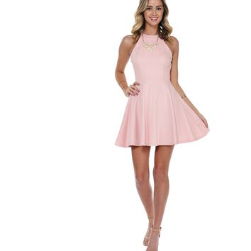 Rose Sweet Life Skater Dress