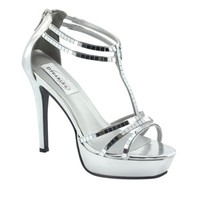 Prom Shoes | Silver prom dresses | Prom dresses | SIlver Prom shoes | Shimmer by Dyeables 29313 | GownGarden.com