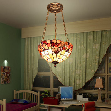 Style Chandelier Lamp Chandelier Chandelier Lamp Shell Anti Bedroom Home Garden Lobby Chandelier Lamp Entrance Stairs
