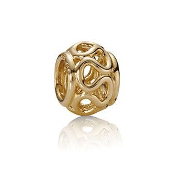 PANDORA Gold Intertwinded Charm
