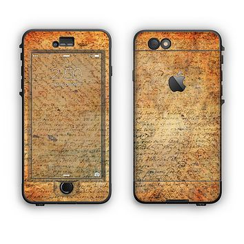 The History Word Overlay V2 Apple iPhone 6 LifeProof Nuud Case Skin Set