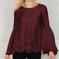 The Jetset Diaries Verona Crochet Top