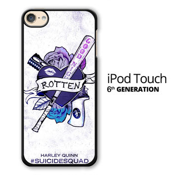 Harley Quinn Rotten Tattoo iPod Touch 6 Case