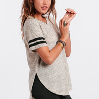 Left Coast Striped Tee