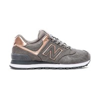 New Balance 574 Precious Metals Collection Sneaker in Gray