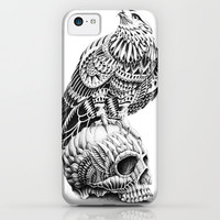 Red-Tail Skull iPhone & iPod Case by BioWorkZ
