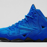 "Nike LeBron 11 EXT ""Blue Suede"" Release Details"